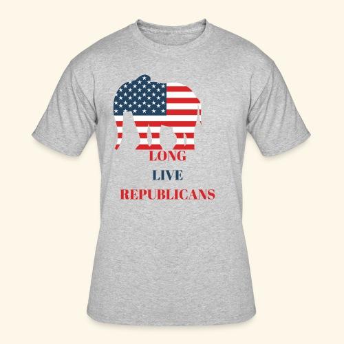 LONG LIVE REPUBLICANS - Men's 50/50 T-Shirt