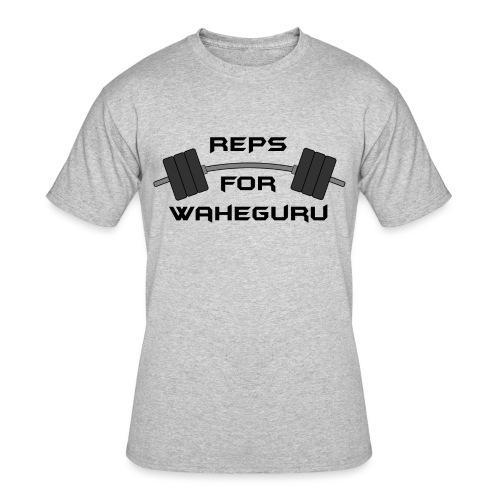 REPS FOR WAHEGURU - Men's 50/50 T-Shirt