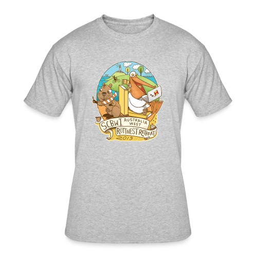 SCBWI Australia West 2019 Rottnest Retreat - Men's 50/50 T-Shirt