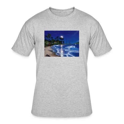 full moon - Men's 50/50 T-Shirt