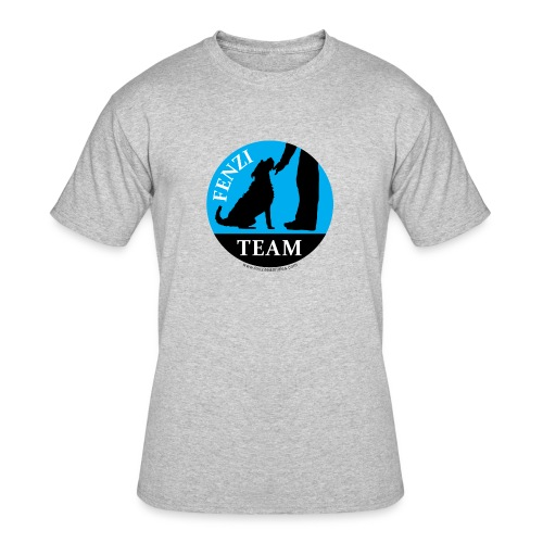FENZITEAM Logo W - NOT FOR BLACK - Men's 50/50 T-Shirt
