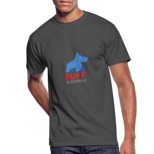 ruffsleepers logo 01 - Men's 50/50 T-Shirt