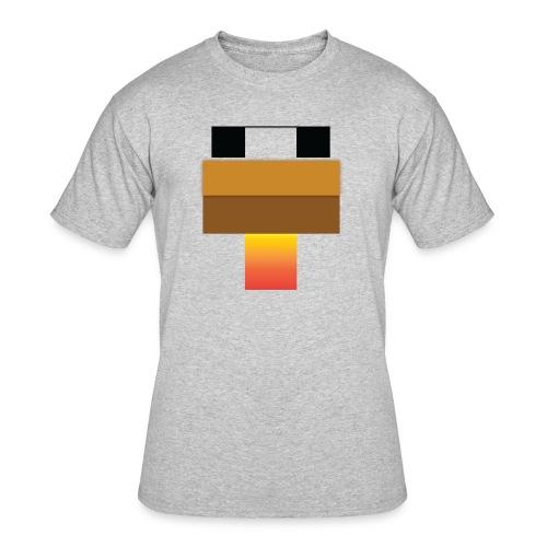 chicken Head - Men's 50/50 T-Shirt
