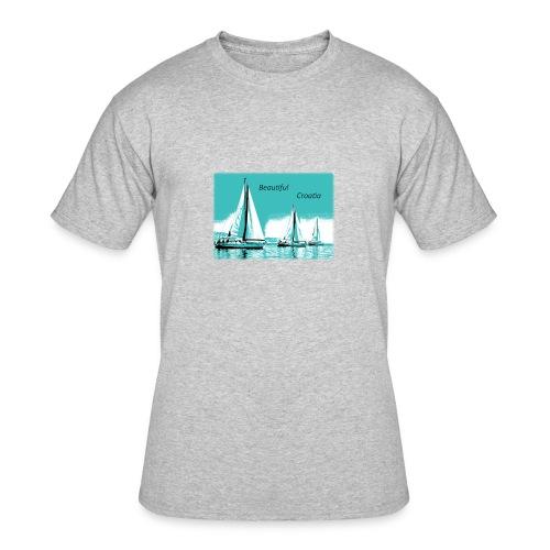 Beautiful Croatia - Men's 50/50 T-Shirt
