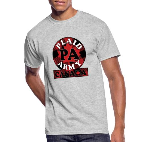 Plaid Army Canada - Men's 50/50 T-Shirt