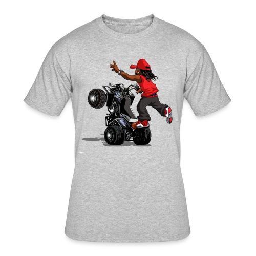 yamaha banshee stunt - Men's 50/50 T-Shirt
