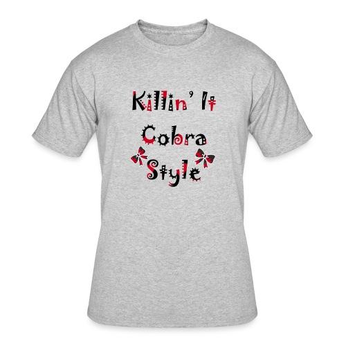 Killin' It Cobra - Men's 50/50 T-Shirt