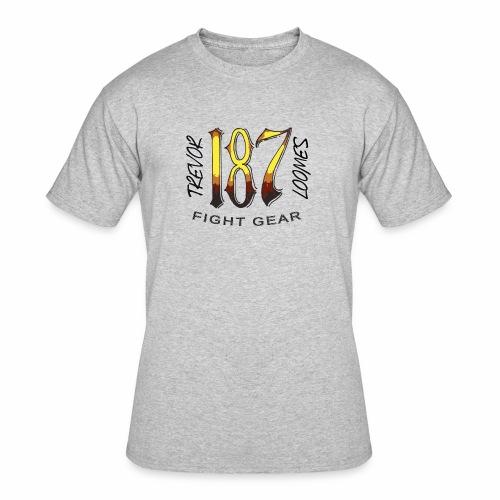 Coloured Trevor Loomes 187 Fight Gear Logo - Men's 50/50 T-Shirt