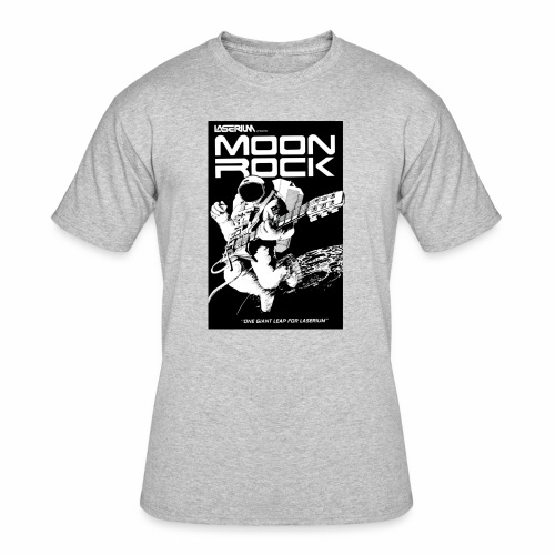MOONROCK, One Giant Leap for Laserium - Men's 50/50 T-Shirt