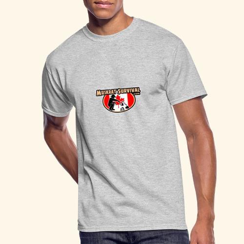 Muskrat Badge 2020 - Men's 50/50 T-Shirt