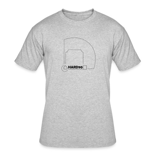 Hard 90 field - Men's 50/50 T-Shirt