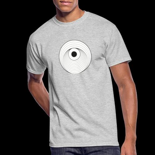 Black Dirt Vortex Logo Light - Men's 50/50 T-Shirt
