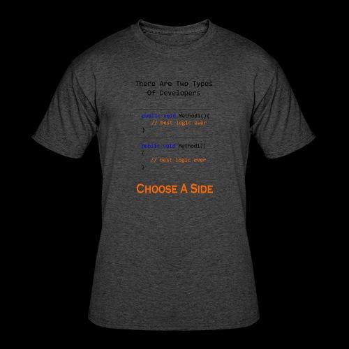 Code Styling Preference Shirt - Men's 50/50 T-Shirt
