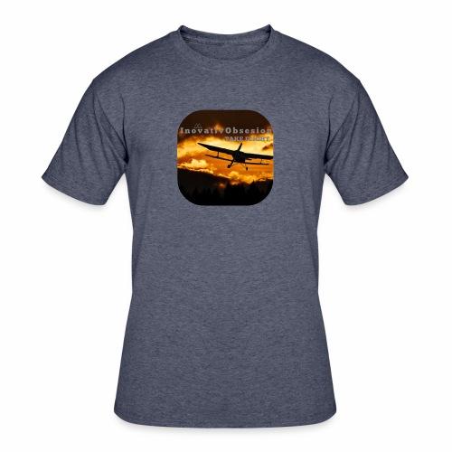 """InovativObsesion """"TAKE FLIGHT"""" apparel - Men's 50/50 T-Shirt"""