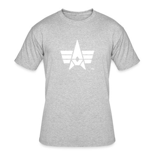 BHK Icon white TM - Men's 50/50 T-Shirt