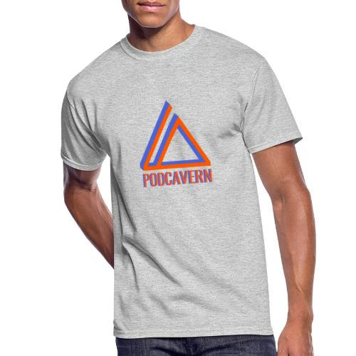 PodCavern Logo - Men's 50/50 T-Shirt