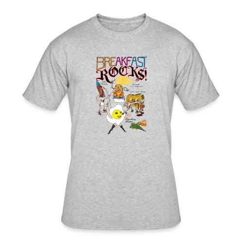 Breakfast Rocks! - Men's 50/50 T-Shirt