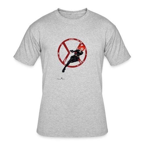 BULLETS AND BALLERINAS - Men's 50/50 T-Shirt