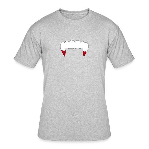 Vampire Fangs - Men's 50/50 T-Shirt