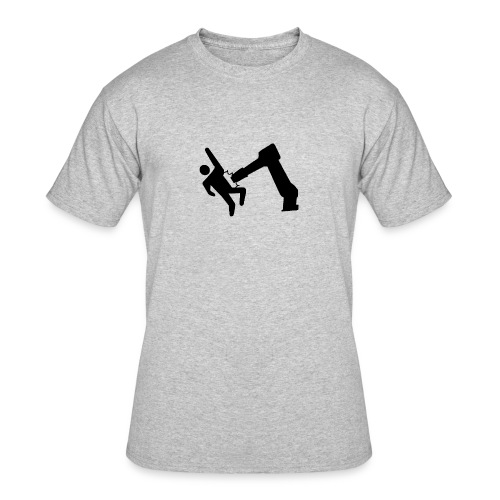 Robot Wins! - Men's 50/50 T-Shirt