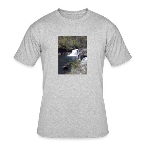 LRC waterfall - Men's 50/50 T-Shirt
