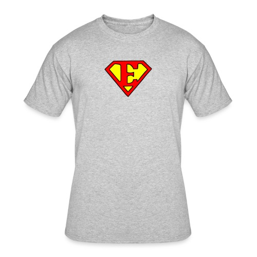 super E - Men's 50/50 T-Shirt