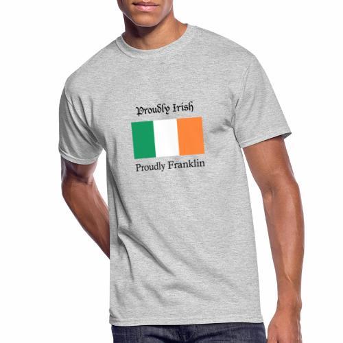 Proudly Irish, Proudly Franklin - Men's 50/50 T-Shirt