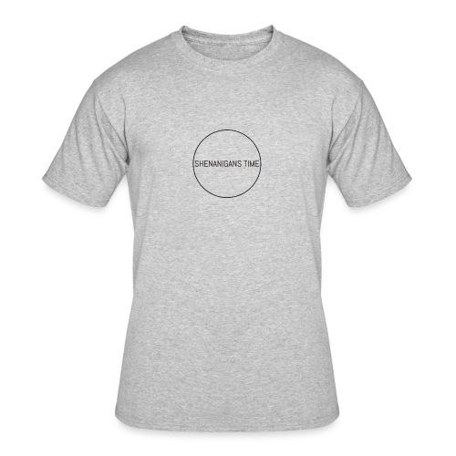 LOGO ONE - Men's 50/50 T-Shirt