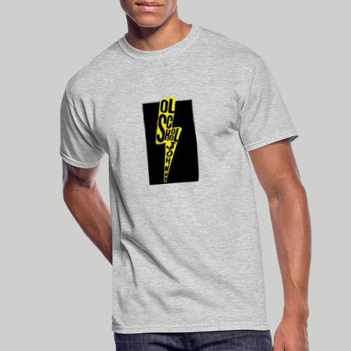 Ol' School Johnny Colour Lightning - Men's 50/50 T-Shirt