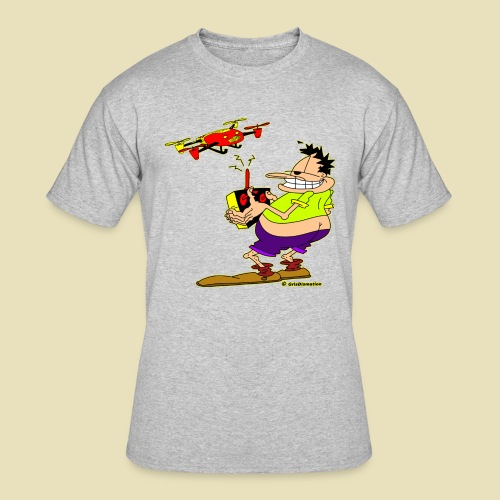 GrisDismation Ongher Droning Out Tshirt - Men's 50/50 T-Shirt