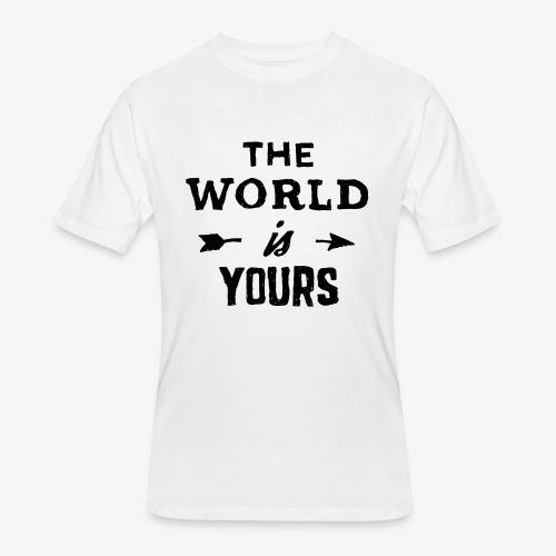 the world - Men's 50/50 T-Shirt