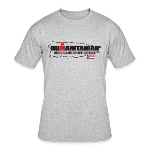 hurricanerelief tee pr - Men's 50/50 T-Shirt
