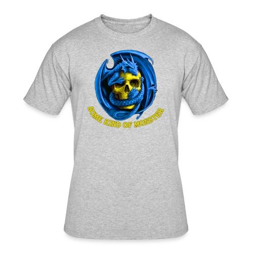 New Logo Front Big - Men's 50/50 T-Shirt
