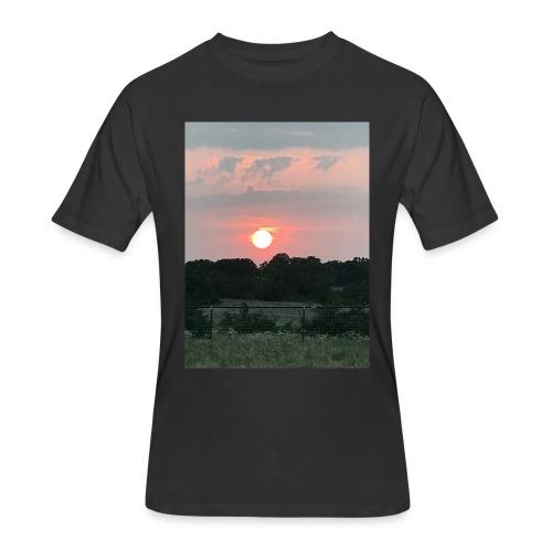 Nature Sunset - Men's 50/50 T-Shirt