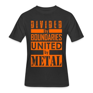 United by Metal - Men's 50/50 T-Shirt