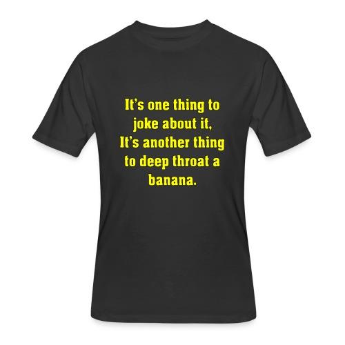 DT Banana - Men's 50/50 T-Shirt