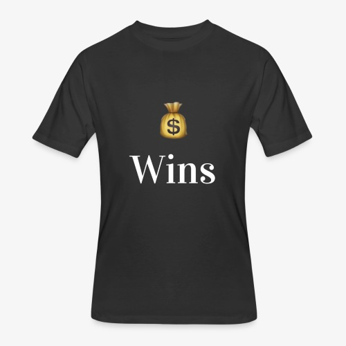 MoneyWins Black tee - Men's 50/50 T-Shirt