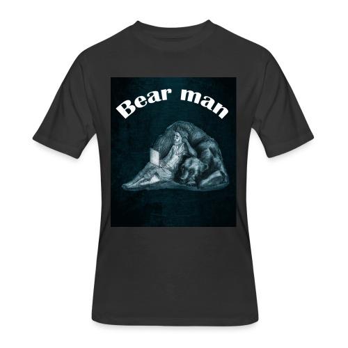 bear man - Men's 50/50 T-Shirt