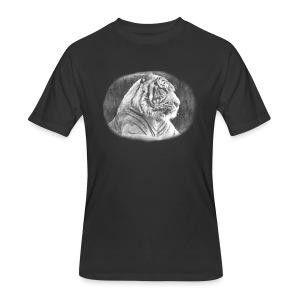 Tiger Sketch - Men's 50/50 T-Shirt