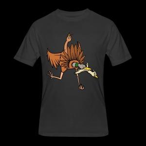 TURDUCKEN TIME! - Men's 50/50 T-Shirt