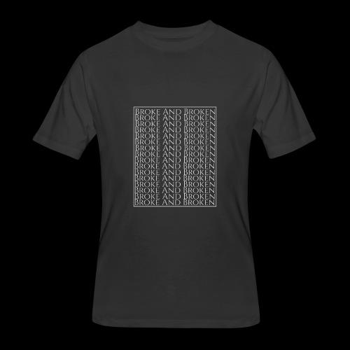 Broke and Broken Multi Drop - Men's 50/50 T-Shirt