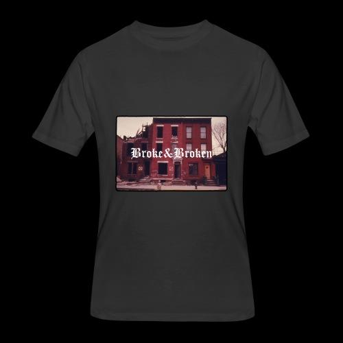 Broke and Broken Vintage NYC - Men's 50/50 T-Shirt