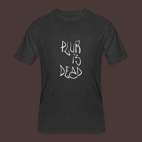 Plur Is Dead - Men's 50/50 T-Shirt