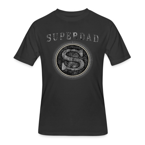 Fathersday T-Shirt - Superdad - Men's 50/50 T-Shirt