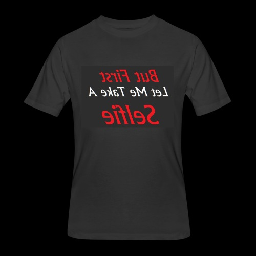 Let's Take Selfie - Men's 50/50 T-Shirt