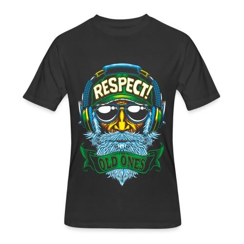 RESPECT - Men's 50/50 T-Shirt