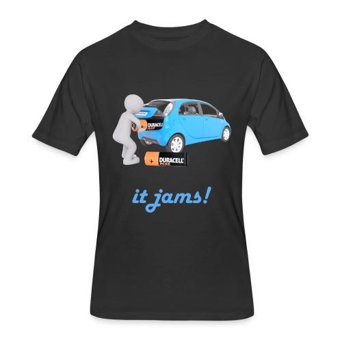 Limited Edition! E-car   Technic Style - Men's 50/50 T-Shirt