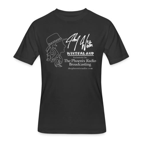 Johnny Winter's Winterland - Men's 50/50 T-Shirt