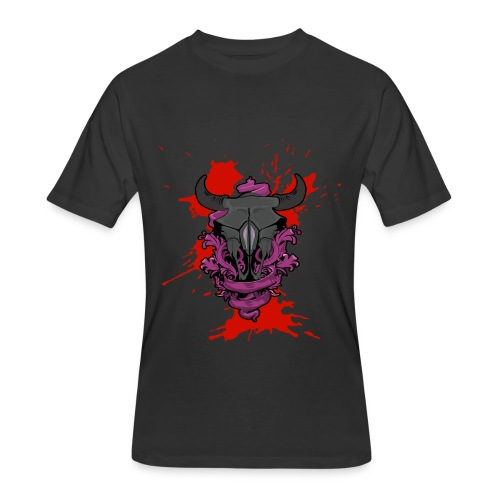 Buffalo Blood - Men's 50/50 T-Shirt