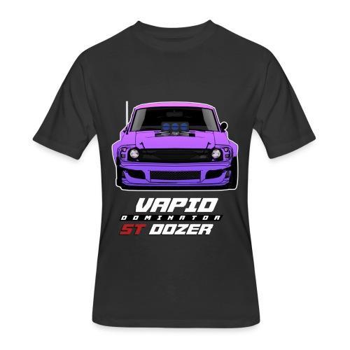 Dominator ST Dozer Purple T-Shirt - Men's 50/50 T-Shirt
